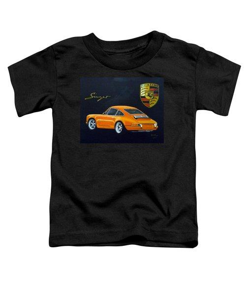 Singer Porsche Toddler T-Shirt