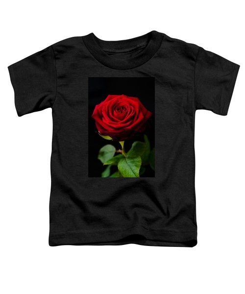 Single Rose Toddler T-Shirt