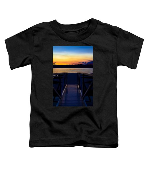 Sitting On The Dock Of A Bay Toddler T-Shirt