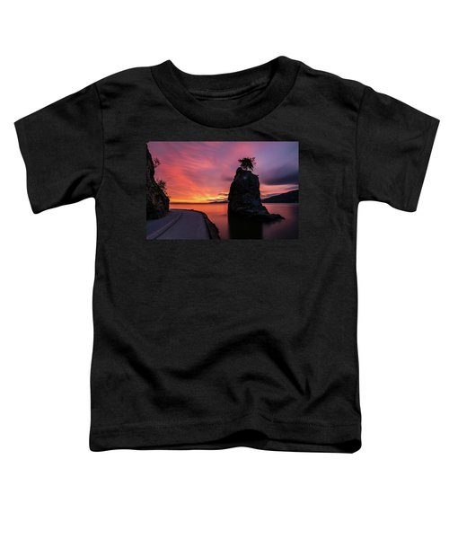 Siwash Rock Along The Sea Wall Toddler T-Shirt