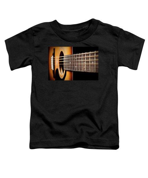 Six String Guitar Toddler T-Shirt