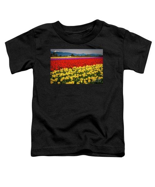 Skagit Valley Tulips  Toddler T-Shirt