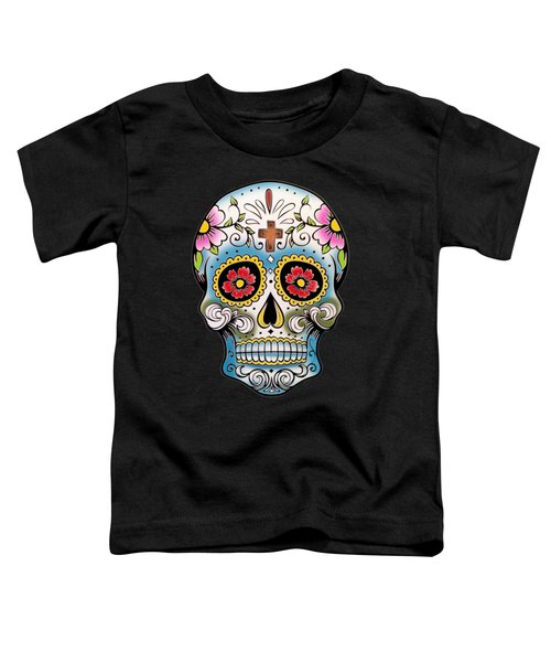 Skull 10 Toddler T-Shirt by Mark Ashkenazi