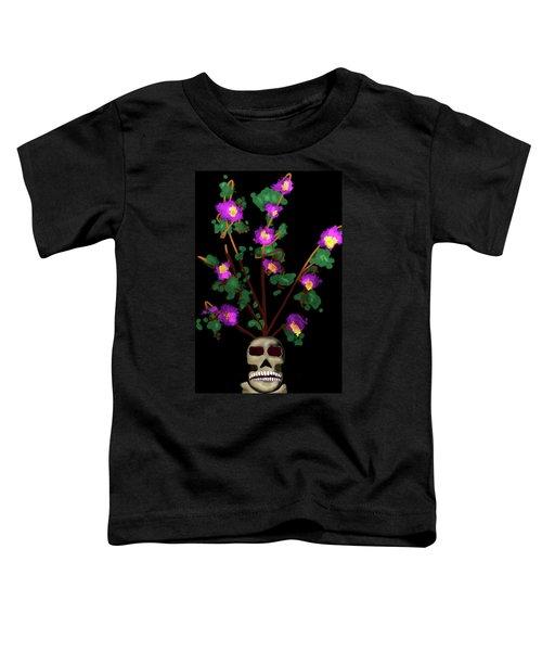 Skull Vase Toddler T-Shirt