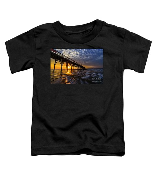 Sky Divided Toddler T-Shirt