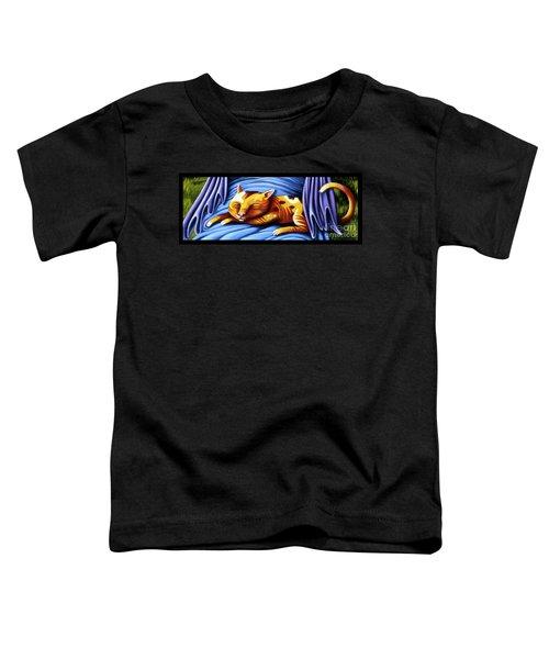 Sleeping Kitty Toddler T-Shirt