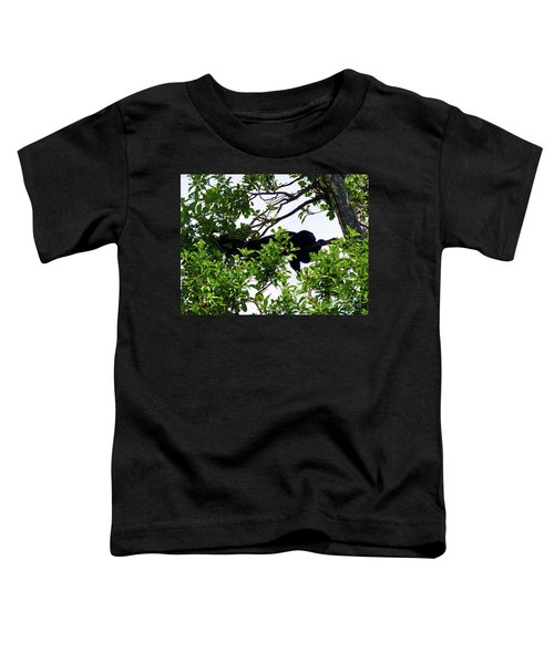 Toddler T-Shirt featuring the photograph Sleeping Monkey by Francesca Mackenney