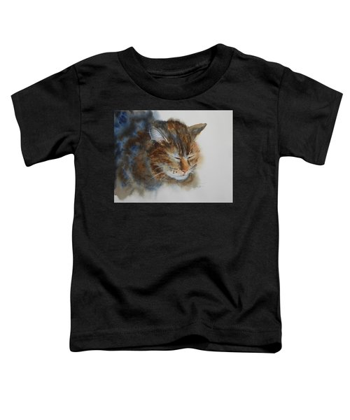 Sleeping Tiger Toddler T-Shirt