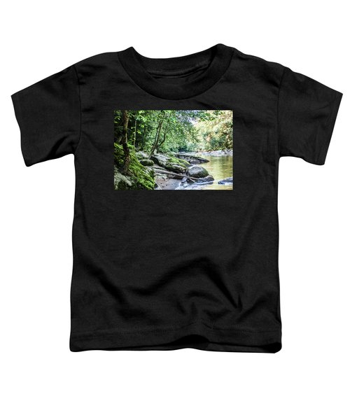 Slippery Rock Gorge - 1912 Toddler T-Shirt