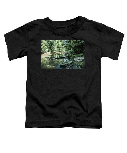 Slippery Rock Gorge - 1944 Toddler T-Shirt