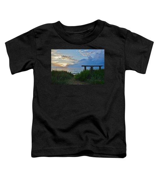 Small World Sunrise   Toddler T-Shirt
