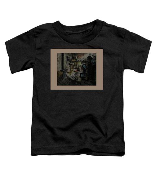 Smokey In My Studio Toddler T-Shirt