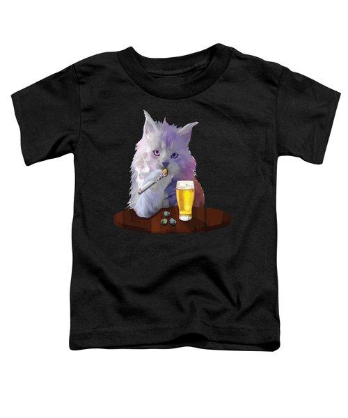 Smoky Cat Toddler T-Shirt