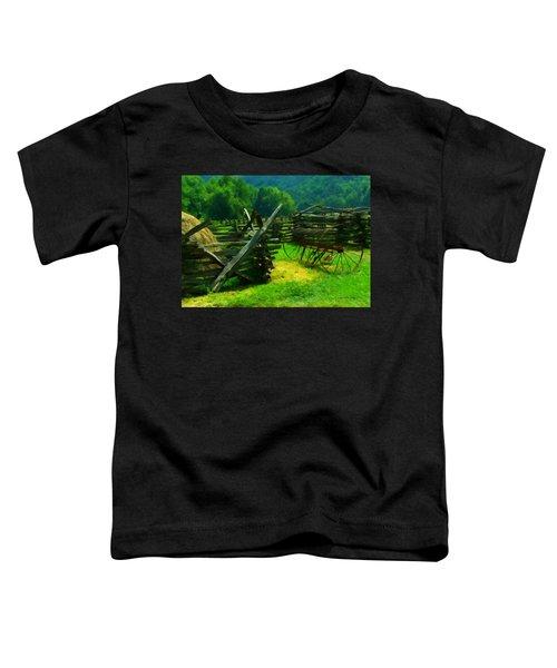 Smoky Mountain Farm 1900s Toddler T-Shirt
