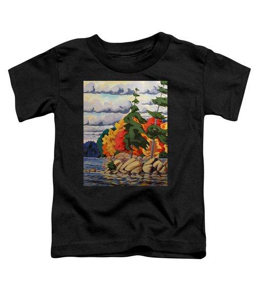 Snake Island In Fall-close Toddler T-Shirt