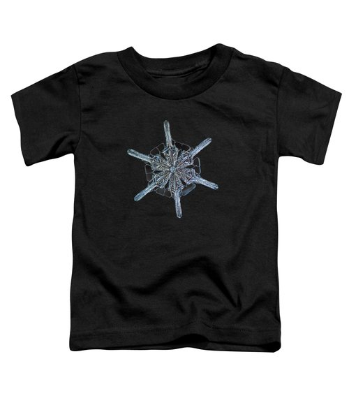 Snowflake Photo - Steering Wheel Toddler T-Shirt