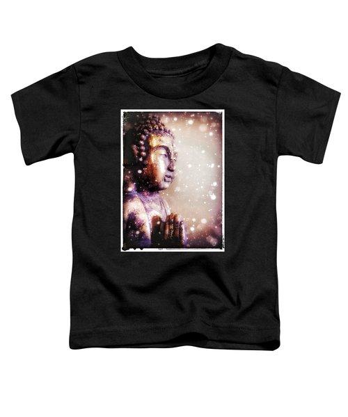 Snowy Buddha Toddler T-Shirt