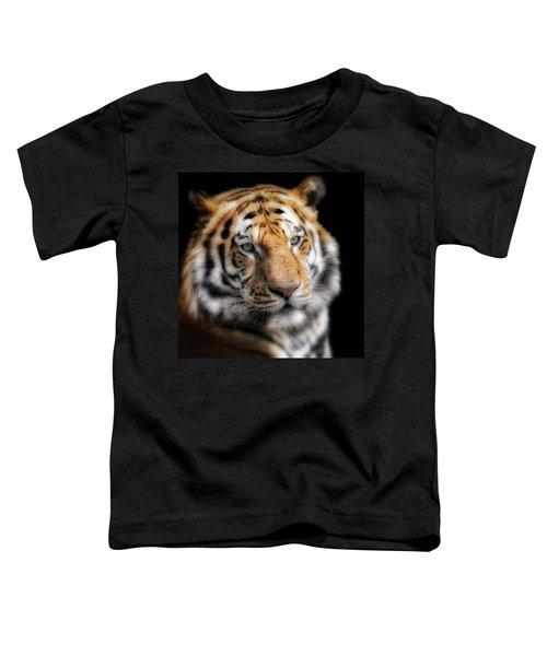 Soft Tiger Portrait Toddler T-Shirt
