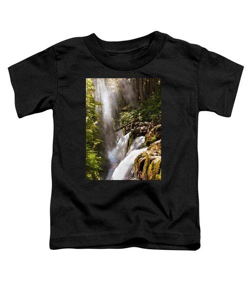 Sol Duc Falls Toddler T-Shirt by Adam Romanowicz