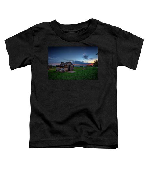 Soldier's Quarters At Valley Forge Toddler T-Shirt