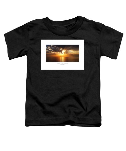 Soleil D'or - Corfu Toddler T-Shirt