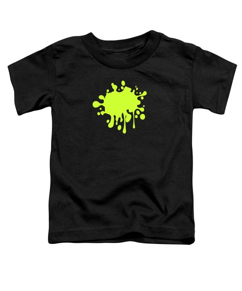Solid Electric Lime Color Toddler T-Shirt by Garaga Designs