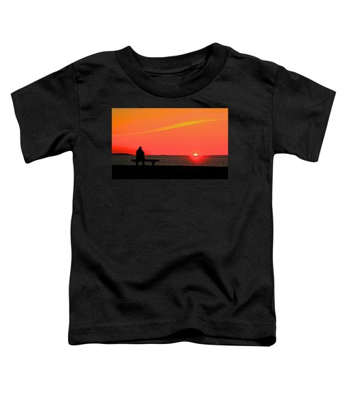 Solitude At Sunrise Toddler T-Shirt