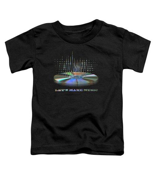 Sound Waves Toddler T-Shirt