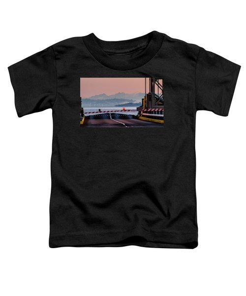 Southworth Ferry Terminal - End Of State Highway 160 Toddler T-Shirt