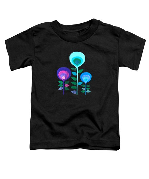 Space Flowers Toddler T-Shirt
