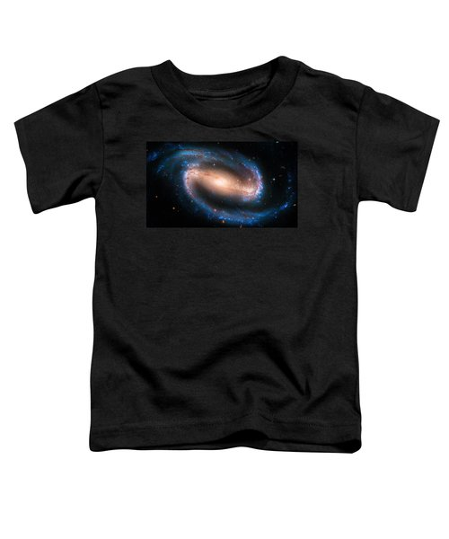 Space Image Barred Spiral Galaxy Ngc 1300 Toddler T-Shirt by Matthias Hauser
