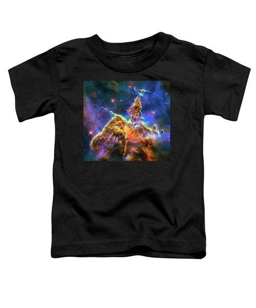Space Image Mystic Mountain Carina Nebula Toddler T-Shirt
