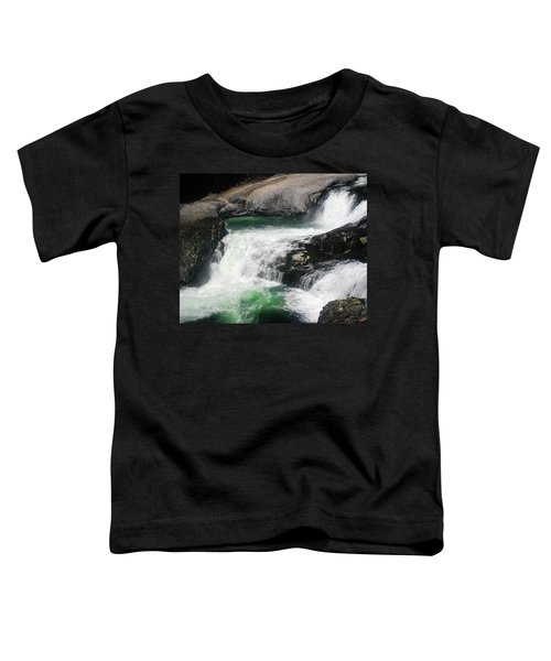 Spokane Water Fall Toddler T-Shirt