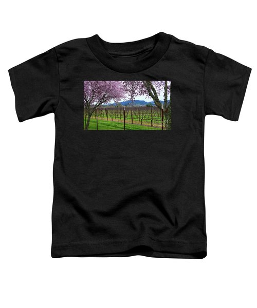 Spring Blossoms Near Calistoga Toddler T-Shirt
