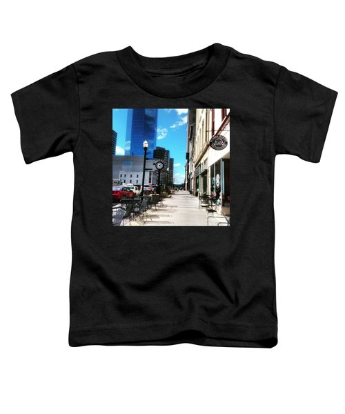 Spring Day In Downtown Lexington, Ky Toddler T-Shirt