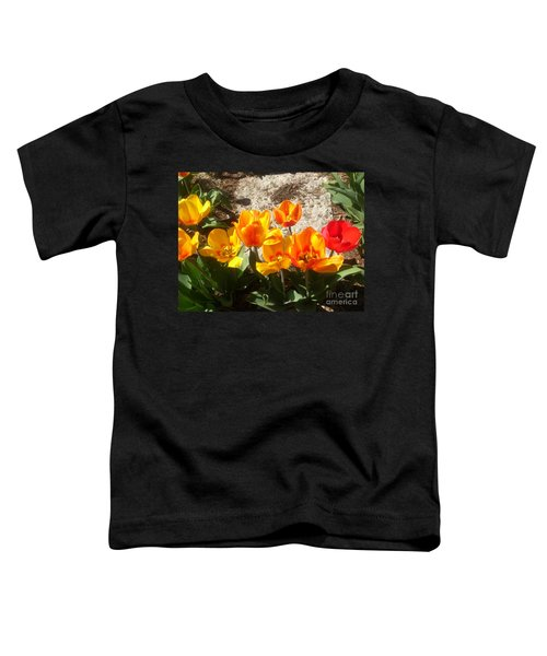 Springtime Flowers Toddler T-Shirt