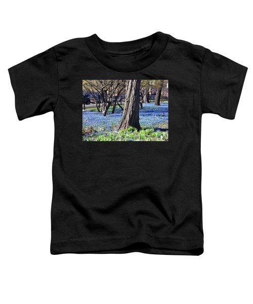 Springtime In The City Toddler T-Shirt
