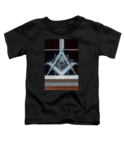 Square And Compass Toddler T-Shirt