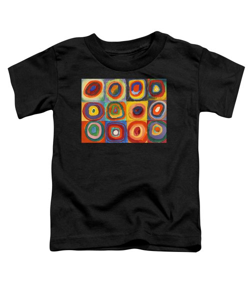 Squares With Concentric Circles Toddler T-Shirt