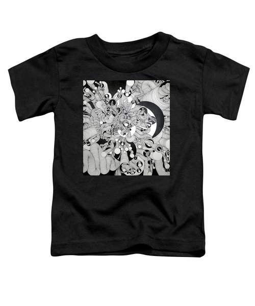 Squiggle Art By Amy Toddler T-Shirt