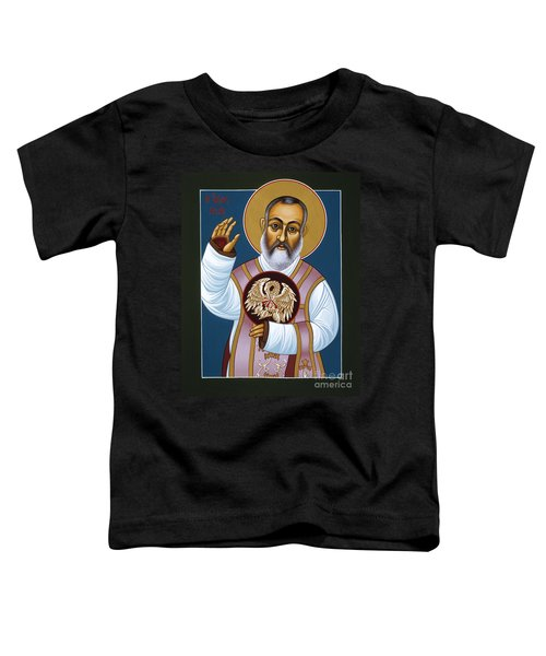 St Padre Pio Mother Pelican 047 Toddler T-Shirt