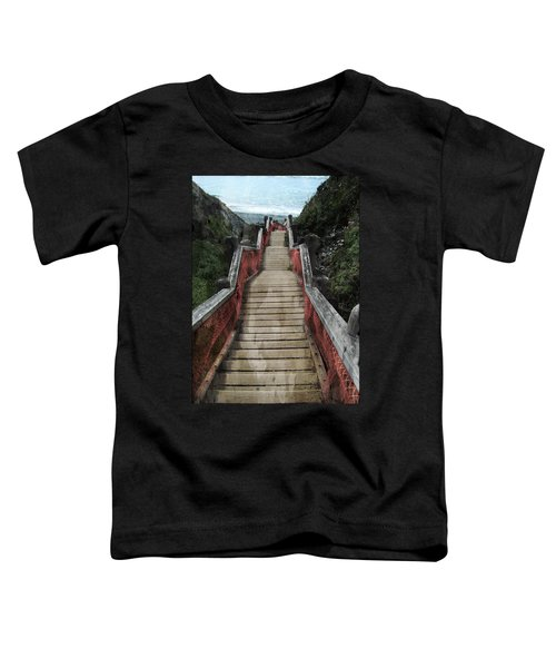 Stairs To Bliss Toddler T-Shirt