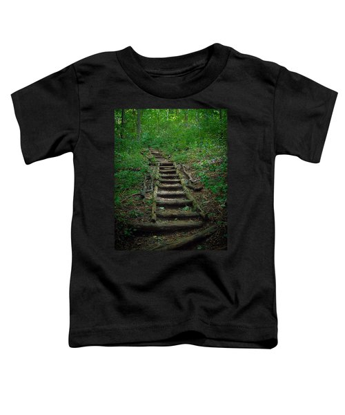 Stairway At Unicoi Gap On The At Toddler T-Shirt