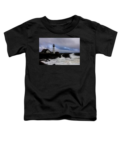 Standing In The Storm Toddler T-Shirt