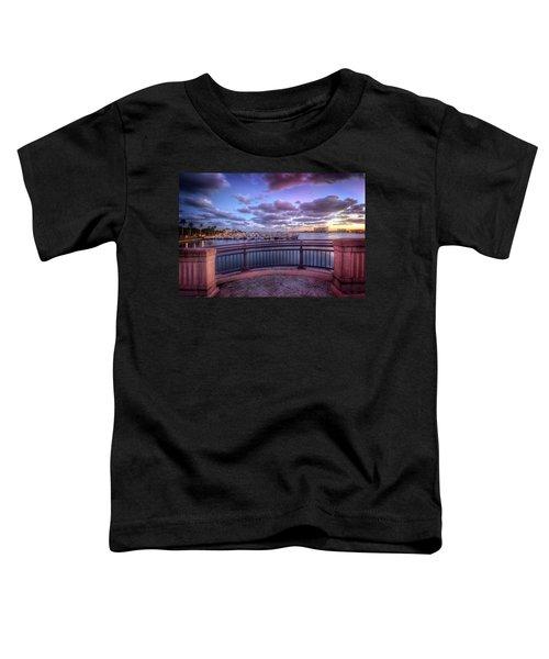 Standing On The Bridge Toddler T-Shirt
