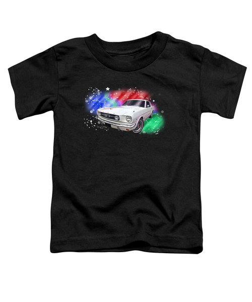 Star Of The Show - 66 Mustang Toddler T-Shirt