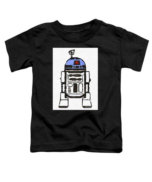 Star Wars R2d2 Droid Robot Toddler T-Shirt