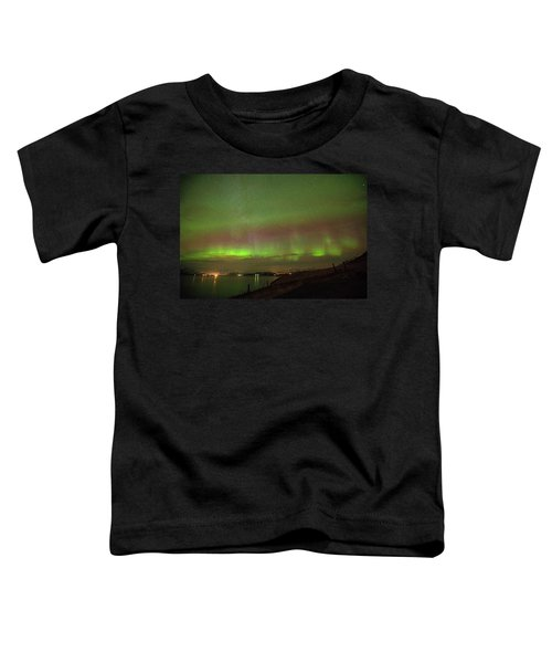 Stars And Northern Lights Toddler T-Shirt