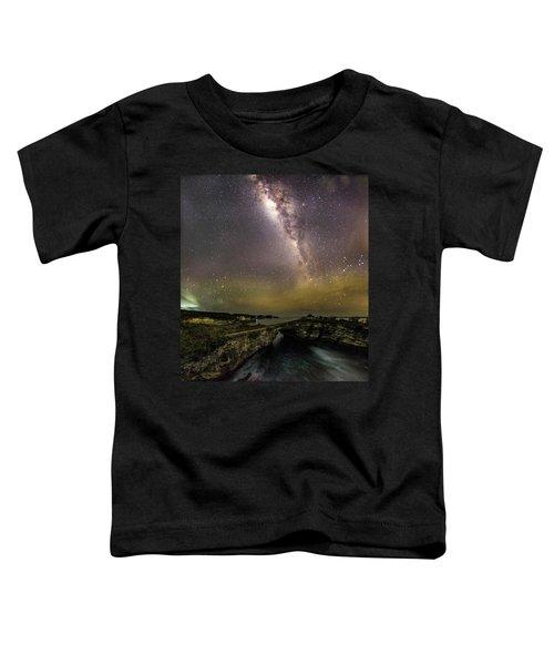 stary night in Broken beach Toddler T-Shirt