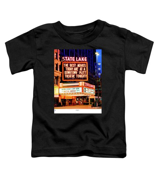 State-lake Theater Toddler T-Shirt